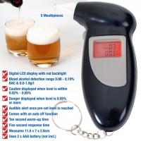 Portable Digital Alcohol Tester