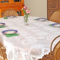 Lace Tablecloth and Placemats