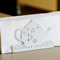 Tea Time Napkin Holder