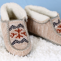 Norwegian Styled Knit Boots