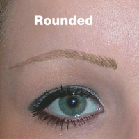Magic Eyebrows Rounded Black