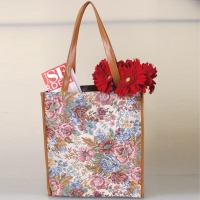 Tapestry Bag with Eyeglass Case