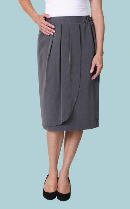 how to make an asymmetrical skirt