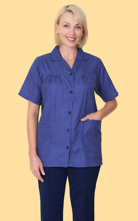 Health Pride Assorted Button Front Smocks