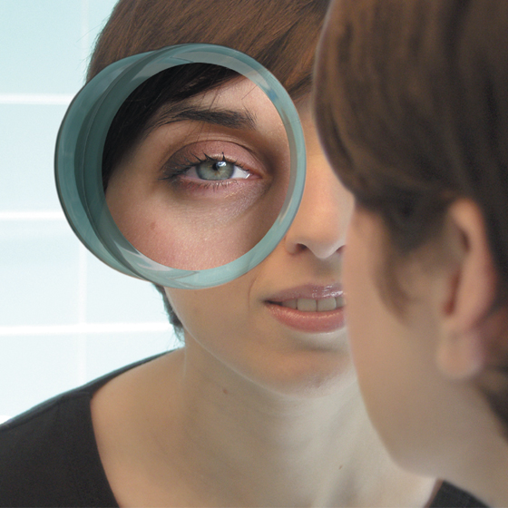 Health Pride Magnifying Suction Mirror