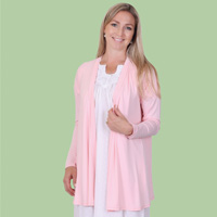 Solid Open Bed Jacket