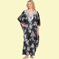 Floral Embroidered Caftan