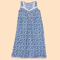 Eyelet Trimmed Nightgown