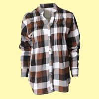 Plaid Flannel Fleece Shirt