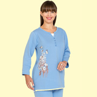 Wildflower Fleece Tunic