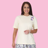 Floral Garden Embroidered Top